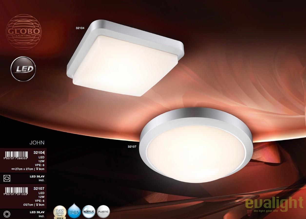 Plafoniere Ip65 Led : Plafoniera de exterior cu iluminat led ip65 john 32107 gl