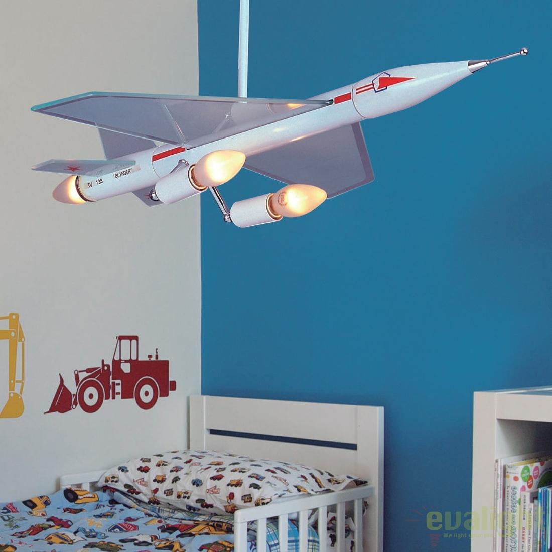 good comenzi telefonice with lustre avion. Black Bedroom Furniture Sets. Home Design Ideas