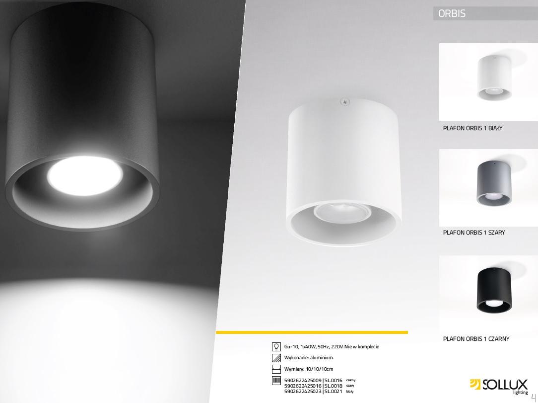 Plafoniera De Tavan : Plafoniera spot aplicat design modern orbis i alb sl