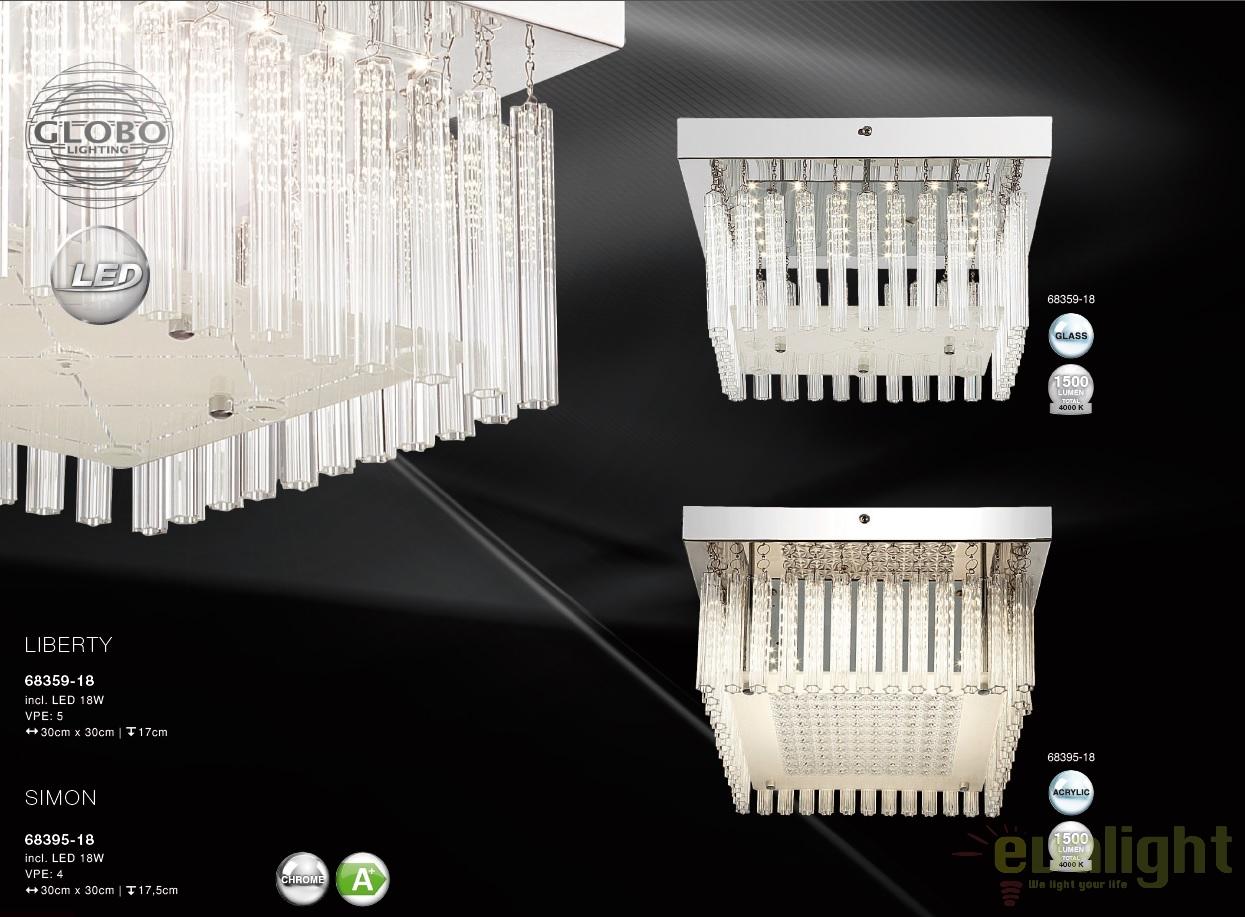 Plafoniere Led Moderne Design : Plafoniera led design modern simon gl corpuri de
