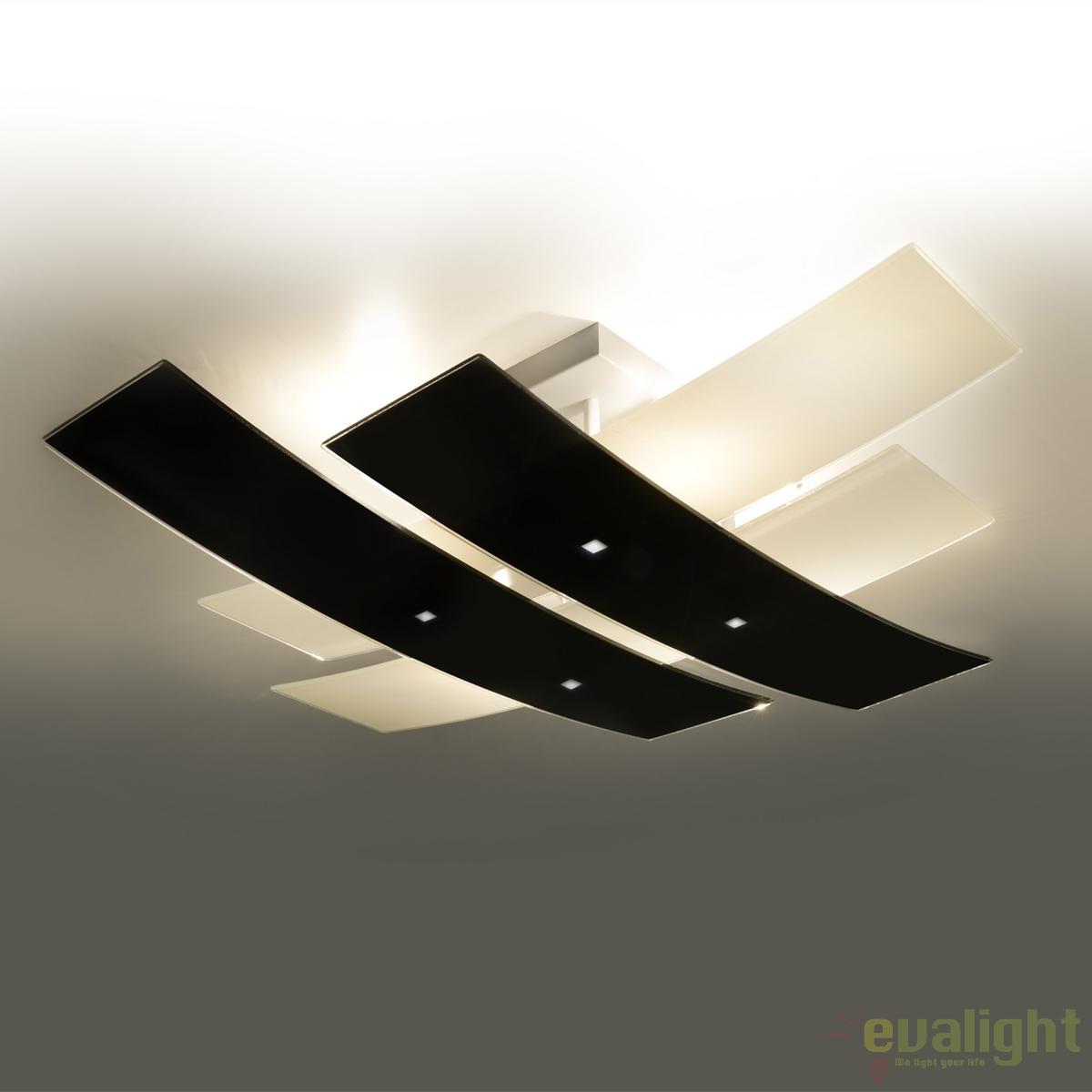 Plafoniera Design Modern Andrea 50cm Corpuri De Iluminat Lustre Aplice