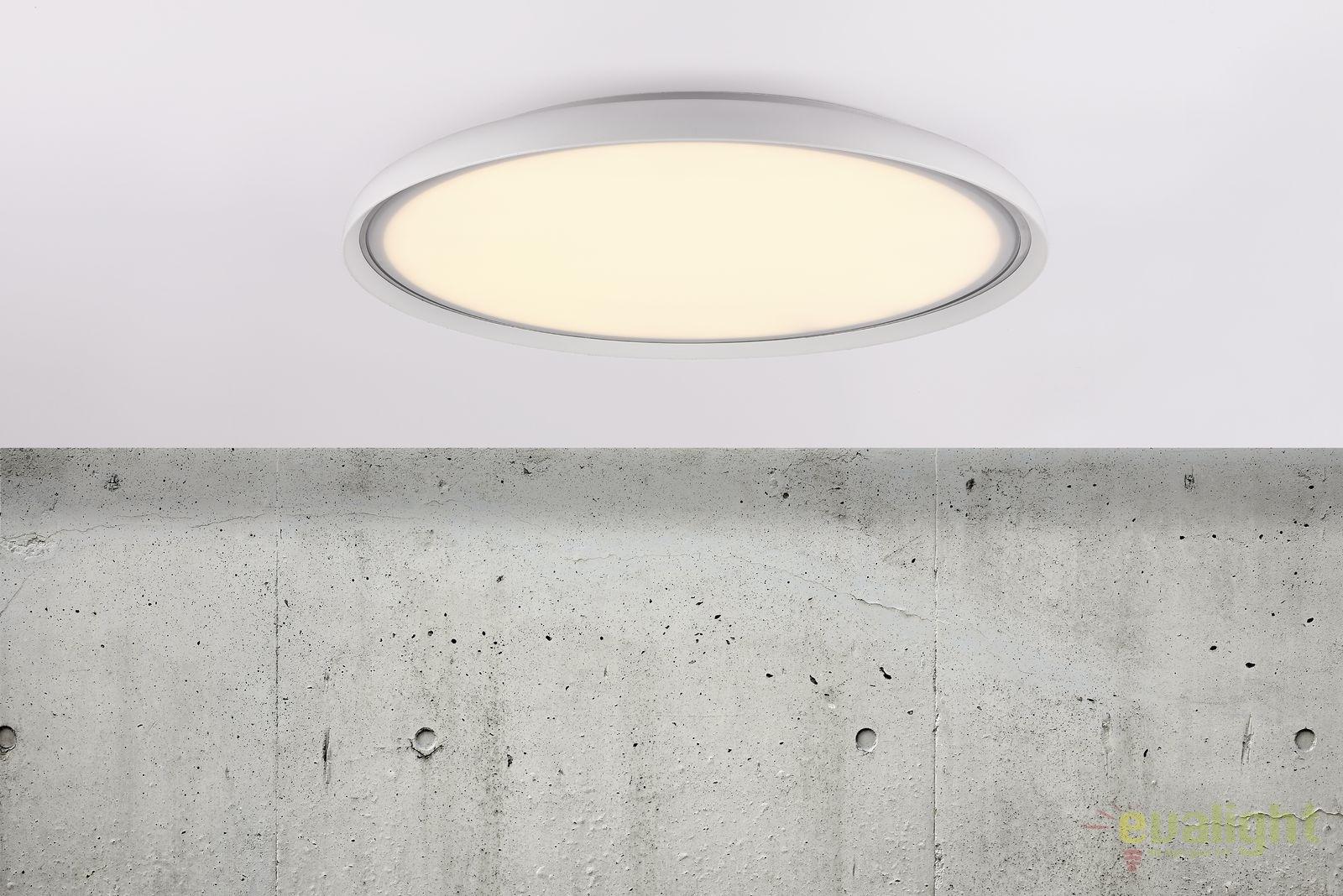 Plafoniere Led Moderne : Plafoniera led design modern diam cm la luna dftp