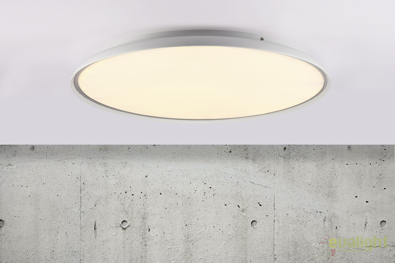 Plafoniere Led Moderne : Plafoniera led design modern diam. 60cm la luna 45316001 dftp