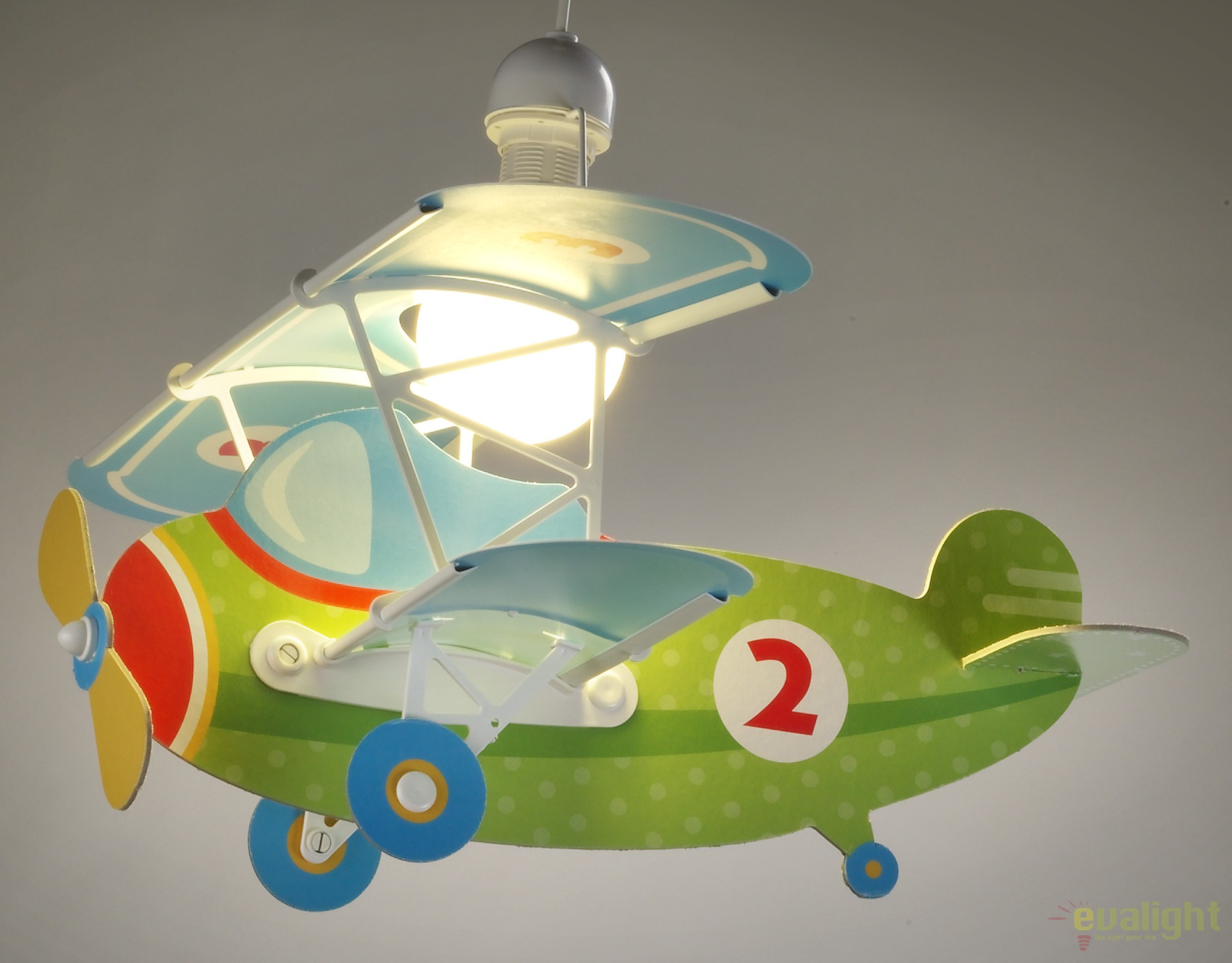 lustra camera copii de dimensiuni mari in forma de avion baby planes verde 54022 db corpuri. Black Bedroom Furniture Sets. Home Design Ideas