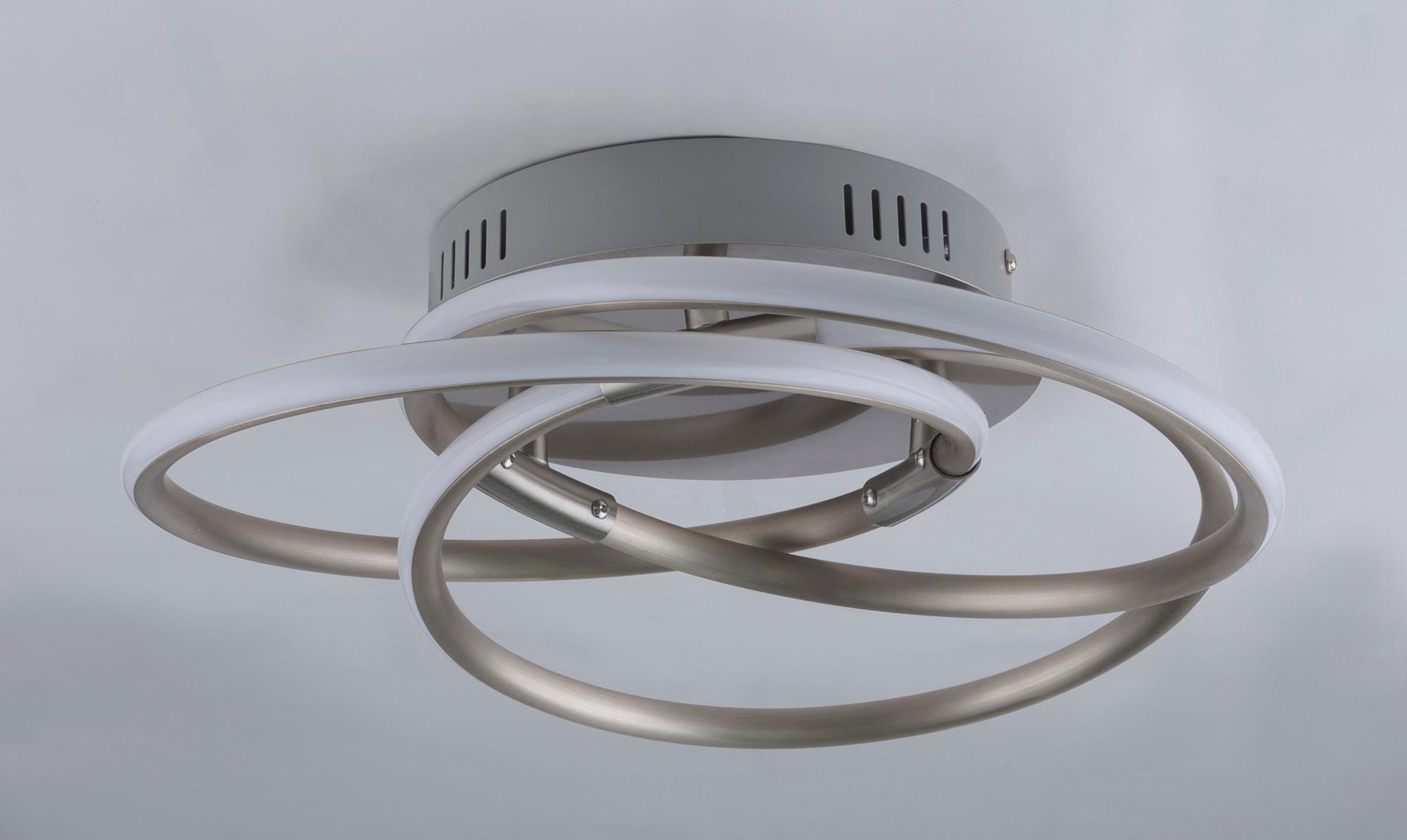 Plafoniere Led Moderne : Plafoniera led design modern barna 24w 67828 24n gl corpuri de