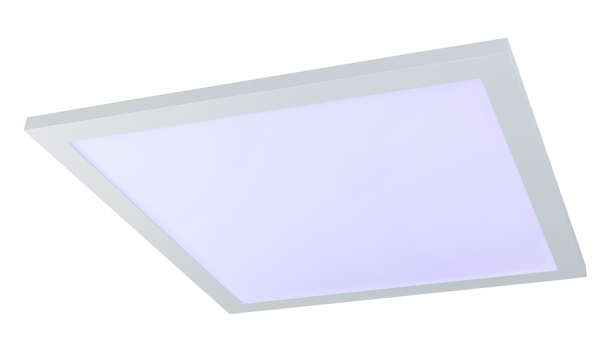 Plafoniera Led Rgb : Plafoniera dimabila cu iluminat led rgb si telecomanda rosi 45x45cm