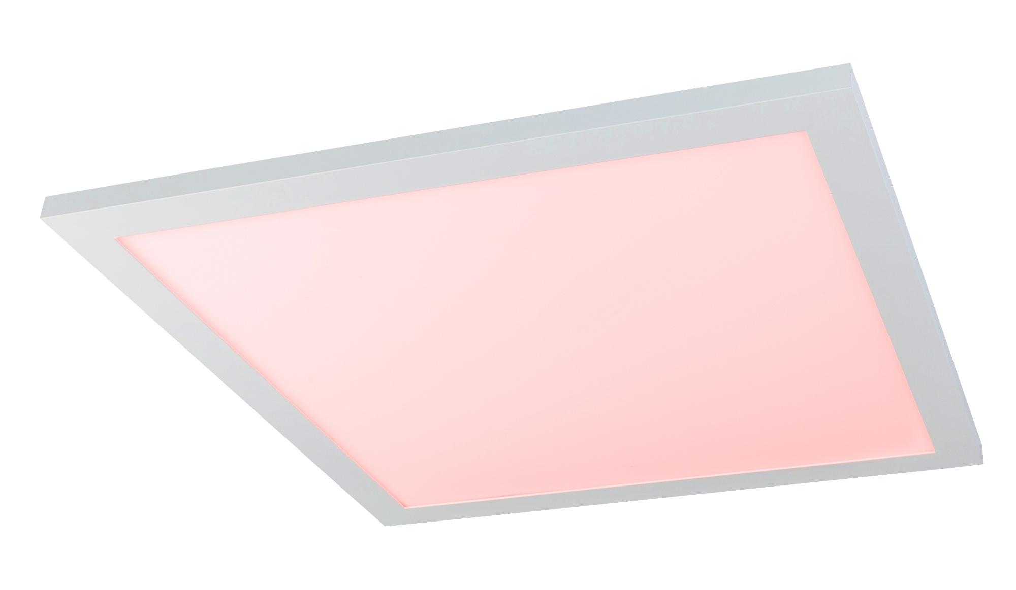 Plafoniera Led Dimabila : Plafoniera dimabila cu iluminat led rgb si telecomanda rosi