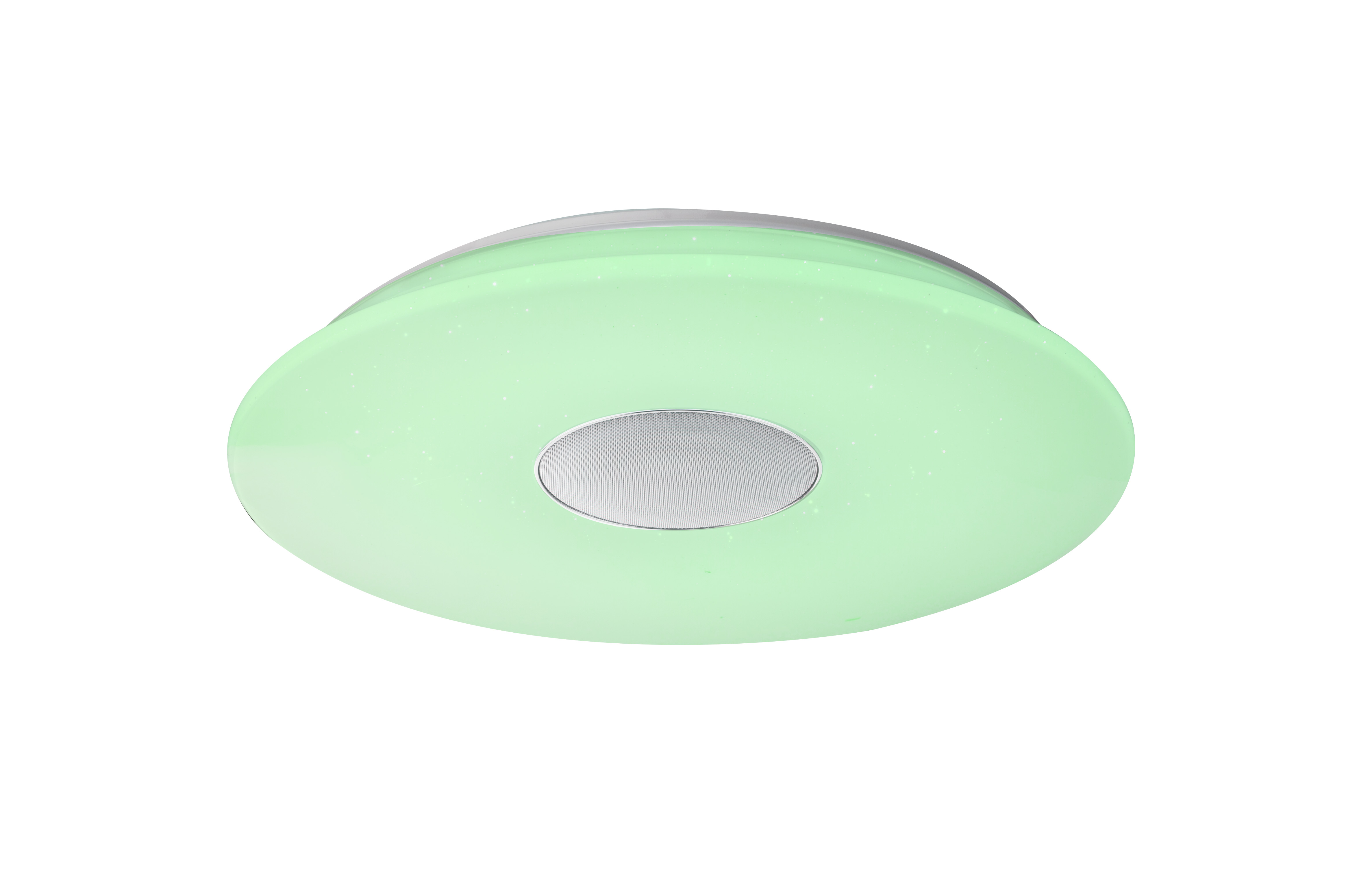 Plafoniera Led Rgb : Plafoniera dimabila cu led rgb difuzor si conectare bluetooth