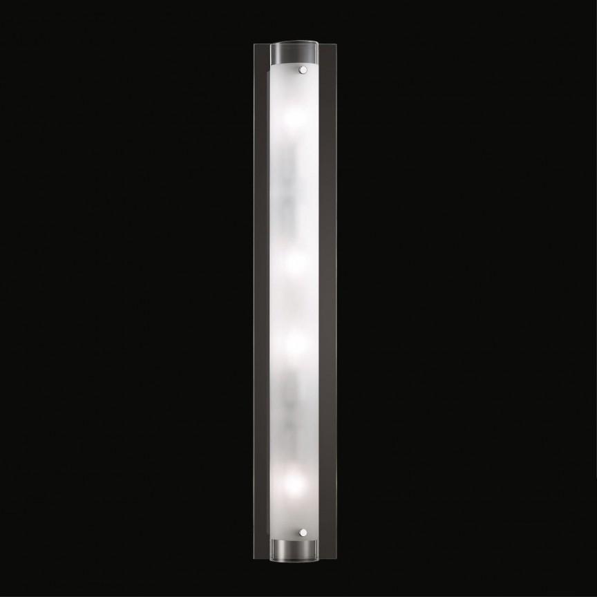 Aplica de perete dim. 12x70cm TUDOR AP4 051864, Aplice perete baie, LED⭐ lampi oglinda, tablou moderne pentru iluminat baie.✅DeSiGn LED decorativ de lux 2021!❤️Promotii aplice baie❗ ➽www.evalight.ro. Alege oferte la corpuri de iluminat baie pt interior de tip plafoniere cu spoturi aplicate tavan, mobila, cu protectie IP rezistente la apa, ieftine de calitate deosebita la cel mai bun pret! a
