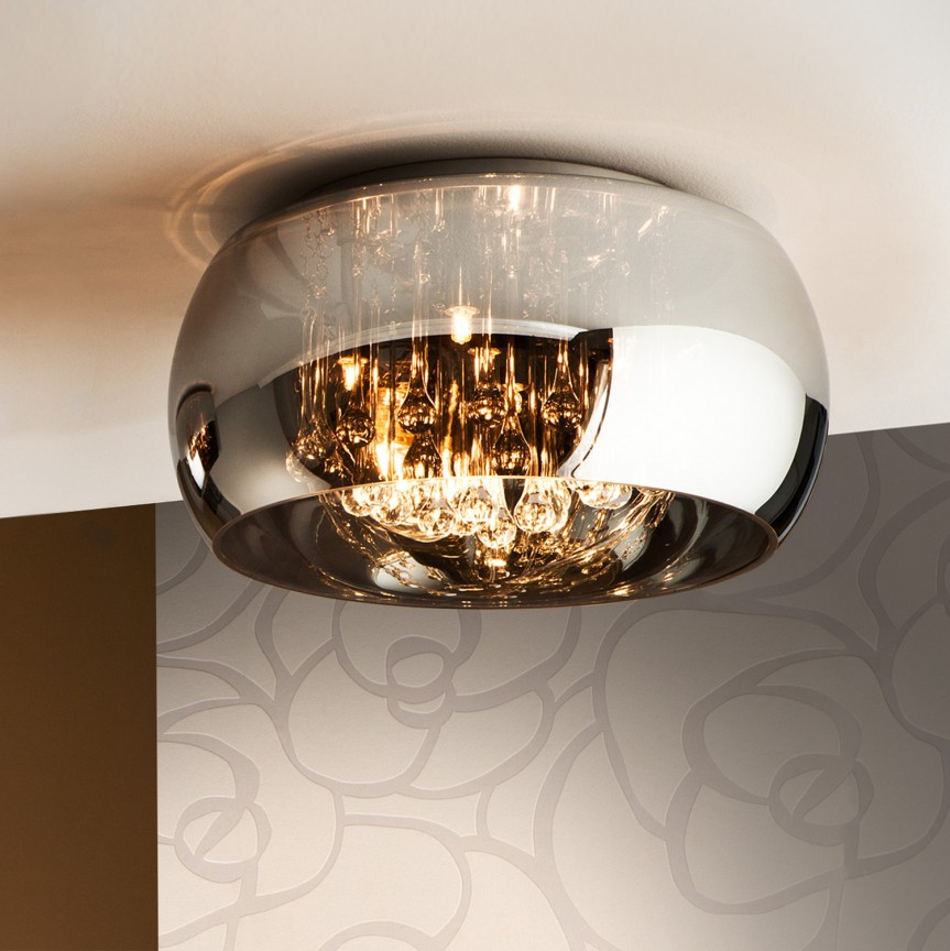 Lustra aplicata moderna design elegant Ø40cm ARGOS SV-507939, Cele mai vandute Corpuri de iluminat, lustre, aplice, veioze, lampadare, plafoniere. Mobilier si decoratiuni, oglinzi, scaune, fotolii. Oferte speciale iluminat interior si exterior. Livram in toata tara.  a
