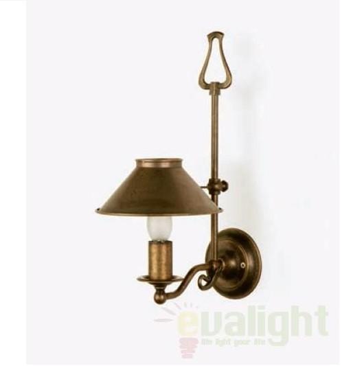 Aplica de perete rustica, inaltime reglabila, Candel 1527 Massmi Iluminacion, Outlet,  a
