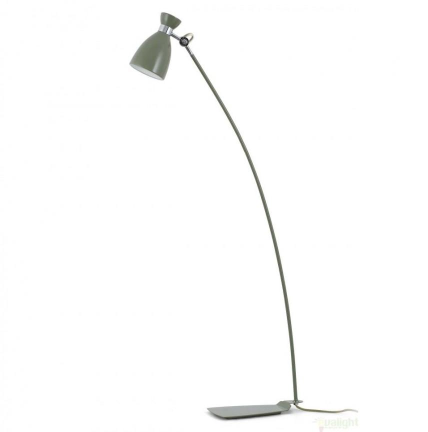 Lampadar / lampa de podea vintage verde H-125 cm, Retro 20020, NOU ! Lustre VINTAGE, RETRO, INDUSTRIA Style,  a