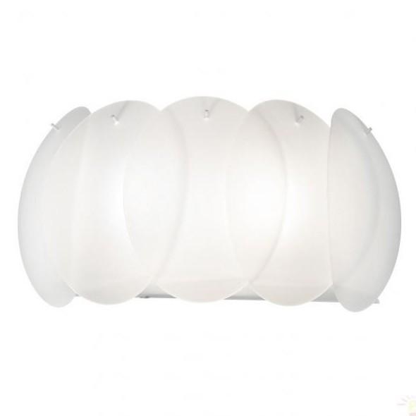 Aplica de perete moderna OVALINO AP2 BIANCO 038025, Aplice de perete moderne, Corpuri de iluminat, lustre, aplice a