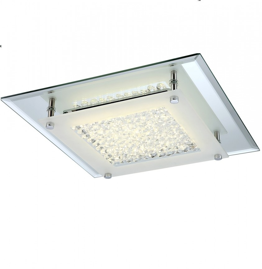 Plafoniera modern cu iluminat LED, LIANA 49300 GL,  a