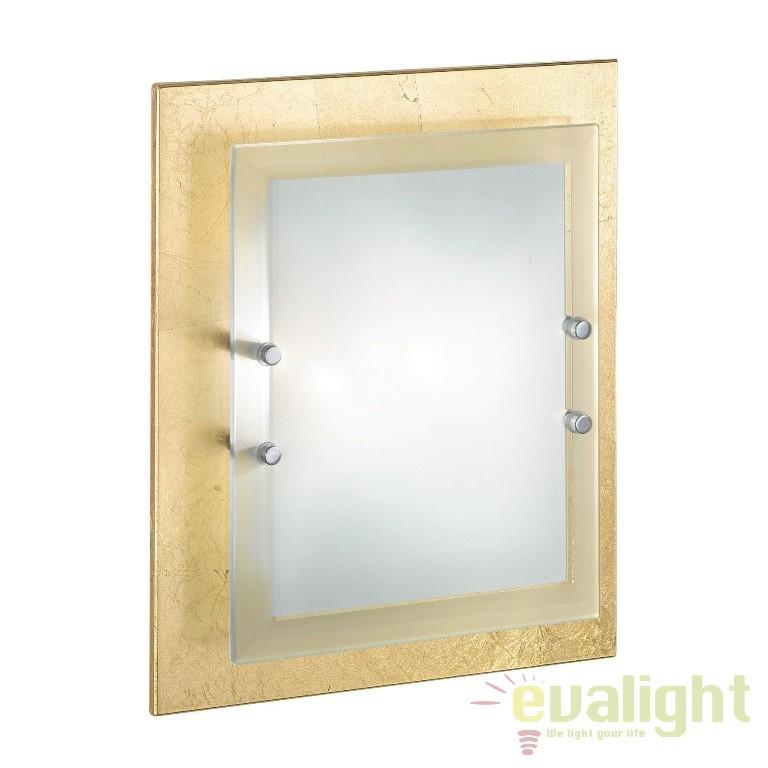 Aplica de perete,Plafonier dim. 30x38cm ALASKA PL2 auriu 090115, PROMOTII, Corpuri de iluminat, lustre, aplice, veioze, lampadare, plafoniere. Mobilier si decoratiuni, oglinzi, scaune, fotolii. Oferte speciale iluminat interior si exterior. Livram in toata tara.  a