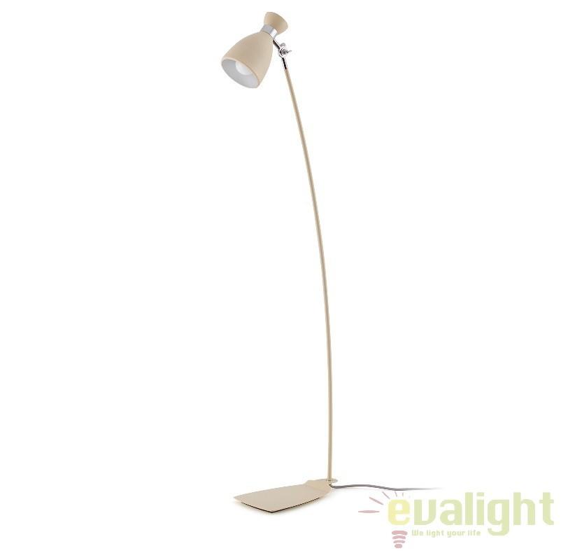 Lampadar / lampa de podea vintage bej H-125 cm, Retro 20019 Faro Barcelona , Rezultate cautare, Corpuri de iluminat, lustre, aplice, veioze, lampadare, plafoniere. Mobilier si decoratiuni, oglinzi, scaune, fotolii. Oferte speciale iluminat interior si exterior. Livram in toata tara.  a