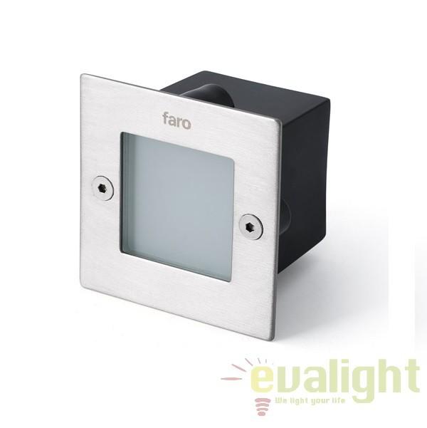 Corp de iluminat exterior incastrabil LED, MINI CONTRA-2 71354 Faro Barcelona , Iluminat exterior incastrabil , Corpuri de iluminat, lustre, aplice a