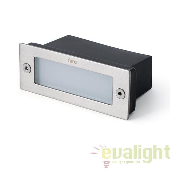 Corp de iluminat exterior incastrabil LED, MINI GEO-2 71355 Faro Barcelona, Iluminat exterior incastrabil , Corpuri de iluminat, lustre, aplice a