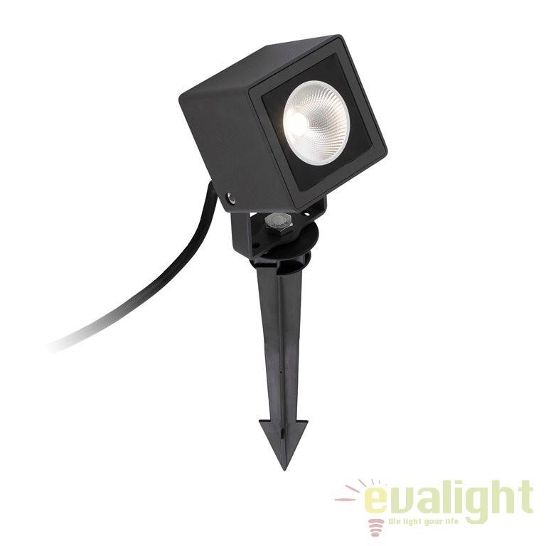 Proiector exterior cu tarus, iluminat LED, IP65, SOBEK 70151 , Proiectoare de exterior cu tarus,  a