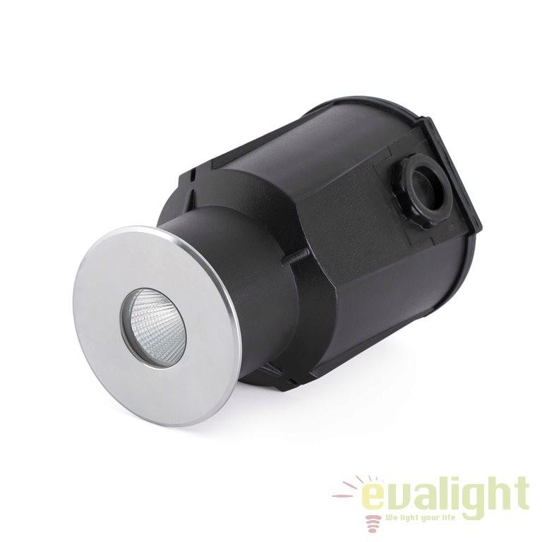 Spot exterior incastrabil in pamant IP67, diam.7cm, TARO LED 70449 Faro Barcelona , Iluminat exterior incastrabil , Corpuri de iluminat, lustre, aplice a