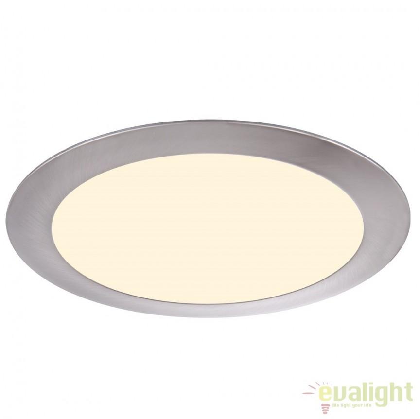 Spot incastrabil pt. tavan fals, diam.17cm, LED DOWN LIGHTS 12356 Globo Lighting , Spoturi LED incastrate, aplicate, Corpuri de iluminat, lustre, aplice a