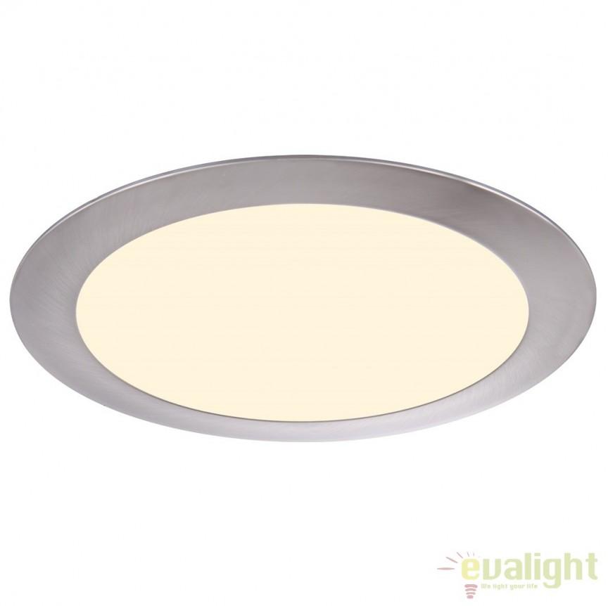 Spot incastrabil pt. tavan fals, diam.22,5cm, LED DOWN LIGHTS 12357 Globo Lighting , Spoturi LED incastrate, aplicate, Corpuri de iluminat, lustre, aplice a