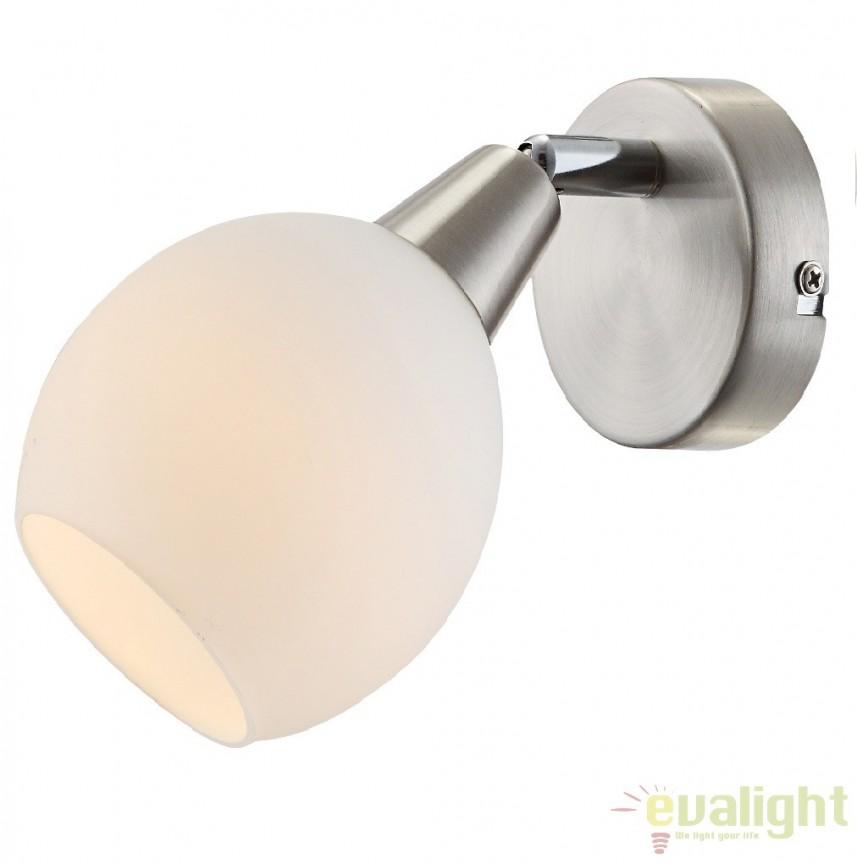 Aplica perete moderna cu iluminat LED, H-16,5cm, ELLIOTT 54351-1 GL, PROMOTII, Corpuri de iluminat, lustre, aplice, veioze, lampadare, plafoniere. Mobilier si decoratiuni, oglinzi, scaune, fotolii. Oferte speciale iluminat interior si exterior. Livram in toata tara.  a