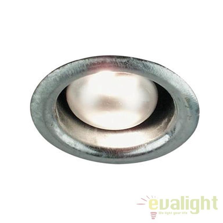 Spot incastrabil, diam.9,6cm, finisaj galvanizat, Galvano Mini 18060031 NL, Spoturi incastrate, aplicate - tavan / perete, Corpuri de iluminat, lustre, aplice a