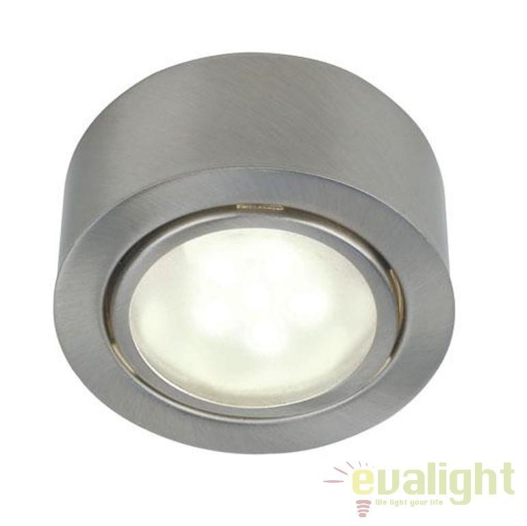 Spot incastrat sau aplicat, cu protectie IP44, diam.6,6cm, Mercur 1-Kit LED 76910132 NL , Spoturi incastrate, aplicate - tavan / perete, Corpuri de iluminat, lustre, aplice a
