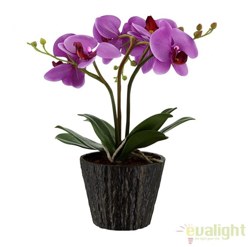 Ghiveci cu flori decorative cu iluminat LED, FLOWERPOWER 28003 GL, ILUMINAT FESTIV, Corpuri de iluminat, lustre, aplice a