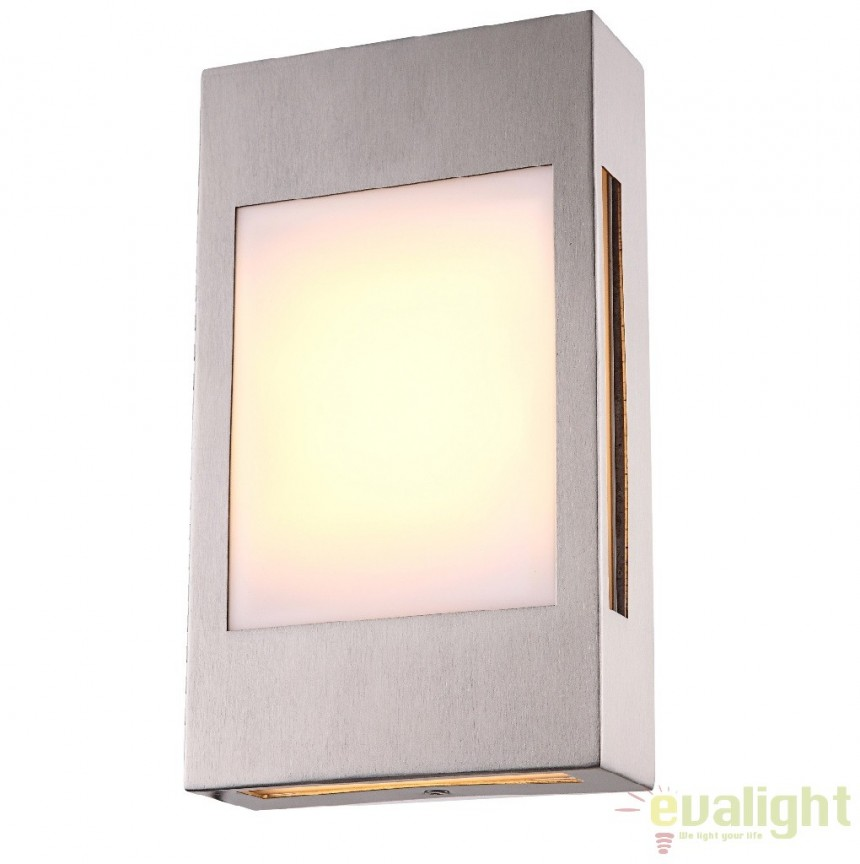 Aplica perete de exterior cu iluminat LED, IP44, Clash 32420 Globo Lighting, PROMOTII,  a
