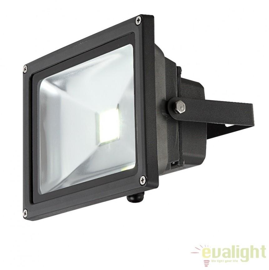Proiector de exterior cu iluminat LED-RGB cu telecomanda, protectie IP65, Radiator V 34119 GL, Proiectoare de iluminat exterior , Corpuri de iluminat, lustre, aplice, veioze, lampadare, plafoniere. Mobilier si decoratiuni, oglinzi, scaune, fotolii. Oferte speciale iluminat interior si exterior. Livram in toata tara.  a