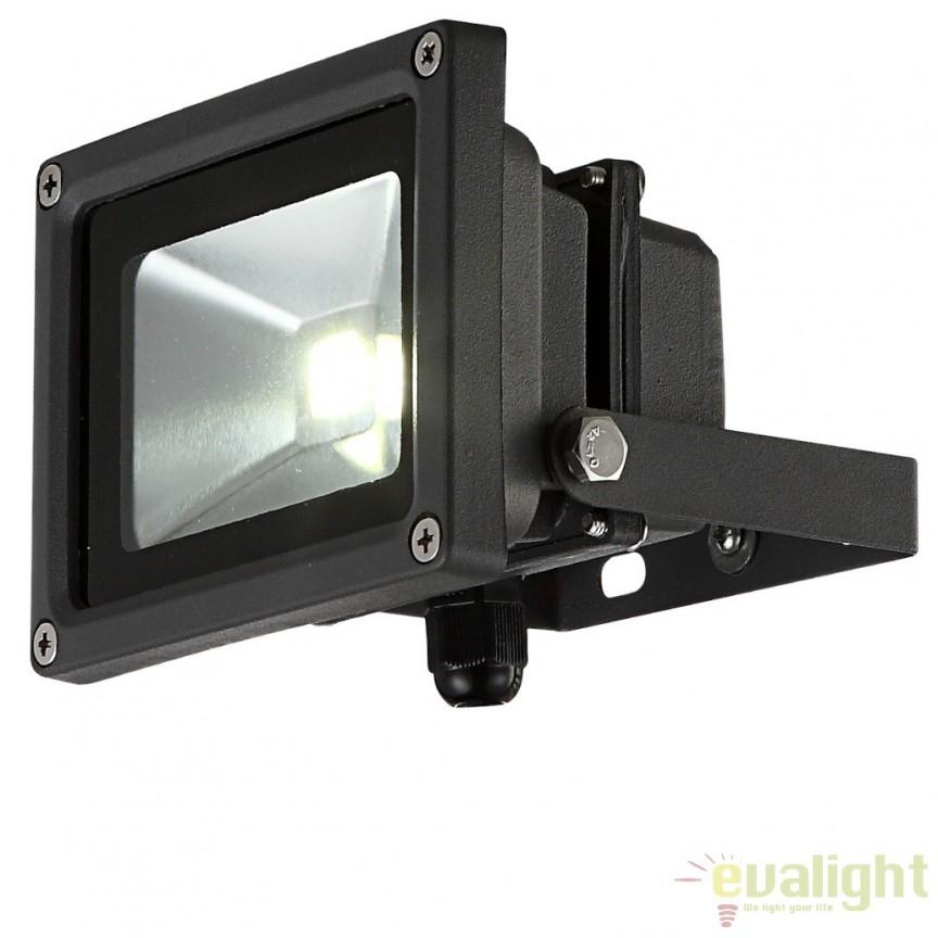 Proiector de exterior cu iluminat LED-RGB cu telecomanda, protectie IP65, Radiator V 34118 GL, Proiectoare de iluminat exterior , Corpuri de iluminat, lustre, aplice, veioze, lampadare, plafoniere. Mobilier si decoratiuni, oglinzi, scaune, fotolii. Oferte speciale iluminat interior si exterior. Livram in toata tara.  a