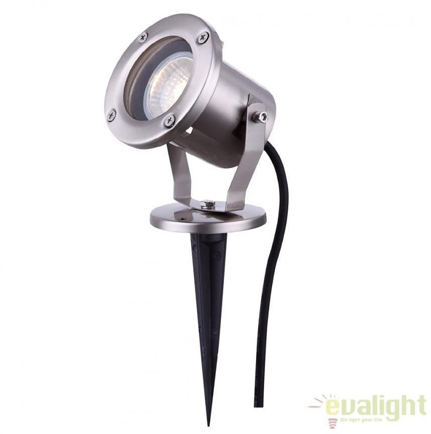 Proiector de exterior cu tarus, protectie IP65, STYLE 32075 GL, Proiectoare de exterior cu tarus, Corpuri de iluminat, lustre, aplice a