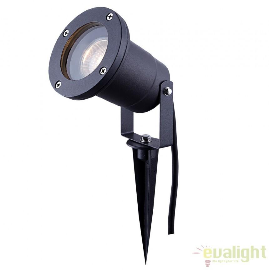 Proiector de exterior cu tarus, protectie IP65, STYLE 32076 GL, Proiectoare de exterior cu tarus, Corpuri de iluminat, lustre, aplice a