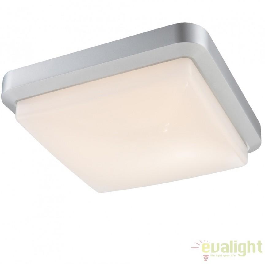 Plafoniera de exterior cu iluminat LED, IP65, JOHN 32104 GL, Plafoniere de exterior, Corpuri de iluminat, lustre, aplice, veioze, lampadare, plafoniere. Mobilier si decoratiuni, oglinzi, scaune, fotolii. Oferte speciale iluminat interior si exterior. Livram in toata tara.  a