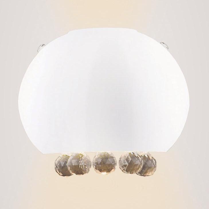 Aplica de perete Moonlight White W0237-01VAA MX, Aplice de perete moderne, Corpuri de iluminat, lustre, aplice a