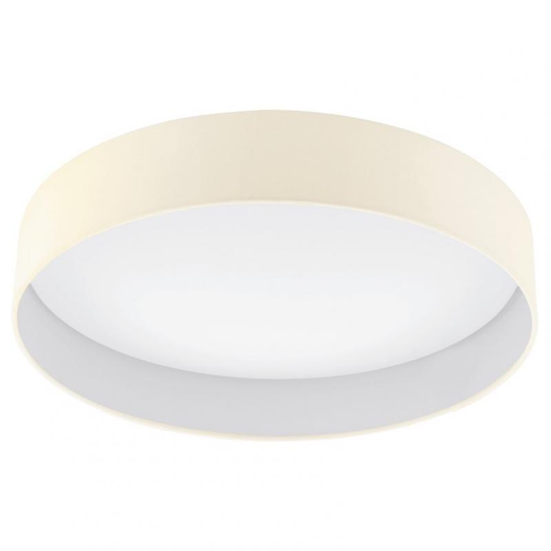 Plafonier modern, diametru 50cm, finisaj crem, LED Palomaro 93394 EL, Magazin,  a