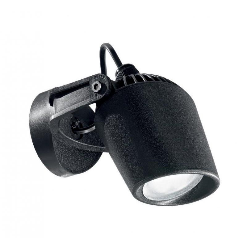 Aplica directionabila de perete exterior IP66, MINITOMMY AP1 NERO 096476, PROMOTII, Corpuri de iluminat, lustre, aplice, veioze, lampadare, plafoniere. Mobilier si decoratiuni, oglinzi, scaune, fotolii. Oferte speciale iluminat interior si exterior. Livram in toata tara.  a