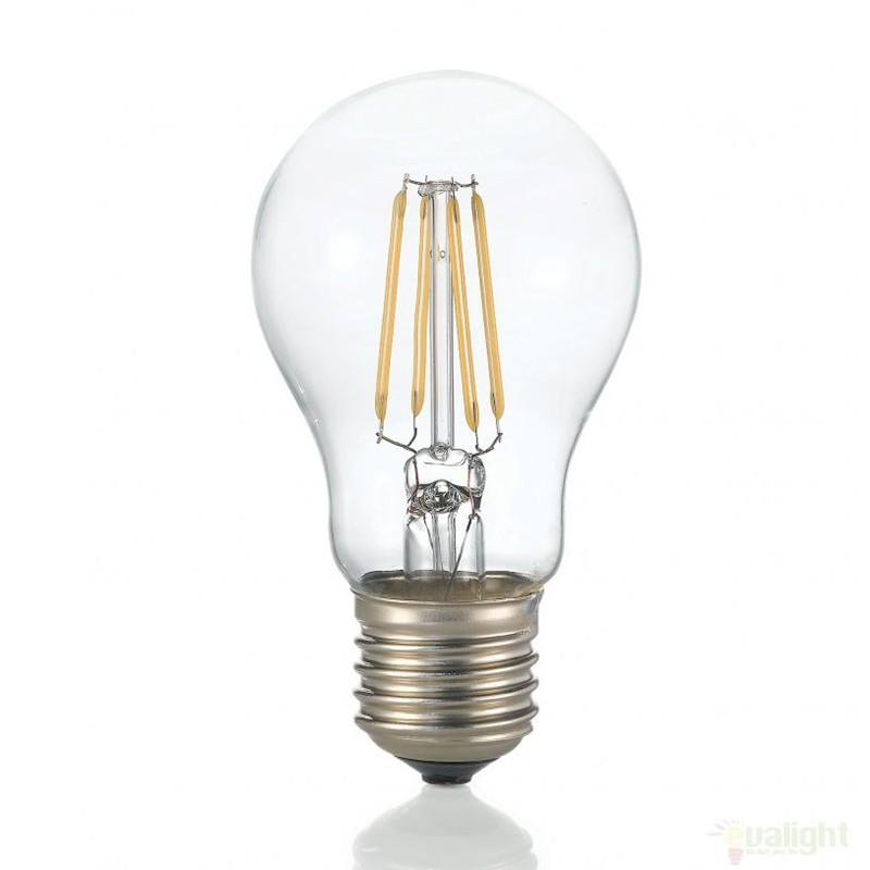 Bec LED E27 4W 3000K GOCCIA TRASPARENTE 101293, Becuri E27 LED pentru iluminat interior si exterior.⭐Cumpara online si ai livrare Acasa.✅Modele decorative vintage, LED si clasice cu filament Edison style.❤️Promotii la becuri E27 Economice si cu Halogen❗ Alege oferte speciale la Becuri cu soclu de tip E27 potrivite pentru corpurile de iluminat: casa, baie, terasa, balcon si gradina❗ Cele mai bune becuri si surse de iluminat inteligente: cu senzor de miscare (telecomanda), (solare) cu consum redus de energie, surse incandescente cu dulie si soclu normale (ceramica, sticla, plastic, aluminiu), LED dimabile cu lumina calda (3000K), lumina rece alba (6500K) si lumina neutra (4000K), lumina naturala, flux luminos cu lumeni multi, bec LED echivalent 60W / 100W / 150W tensinea curentului electric este de 12V fata de 220V (Volti), si durata mare de viata, becuri cu lumina puternica stralucitoare, colorate si multicolore, cu forma de lumanare, mari mari si rezistente la caldura si la apa, ce se aprinde instant la trecerea curentului electric, ieftine si de lux, cu garantie si de calitate deosebita la cel mai bun pret❗ a