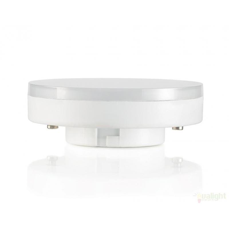 Bec LED GX53 7W 101385, Becuri MR16 / AR111-GX53-GU5.3-GU4 LED pentru iluminat interior si exterior.⭐Cumpara online si ai livrare Acasa.✅Modele de becuri puternice cu halogen si economice cu LED.❤️Promotii la becuri cu soclu de tip MR16 / AR111 / GX53 / GU5.3 / GU4❗ Alege oferte speciale la becuri cu dulie potrivite la corpurile de iluminat pentru casa, baie, birou, restaurant, spatii comerciale❗ Cele mai bune becuri si surse de iluminat cu consum redus de energie, (ceramica, sticla, plastic, aluminiu), cu LED dimabile cu lumina calda (3000K), lumina rece alba (6500K) si lumina neutra (4000K), lumina naturala, proiectoare si reflectoare cu spot-uri reglabile cu flux luminos directionabil, cu format GU5.3, cu lumeni multi, bec LED echivalent 35W / 50W / 100W / 120W / 150 (Watt) tensinea curentului electric este de 12V fata de 220V (Volti), durata mare de viata, becuri cu lumina puternica (luminozitate mare) ce consumă mai putina energie electrica, rezistente la caldura si la apa, ieftine si de lux, cu garantie si de calitate deosebita la cel mai bun pret❗ a