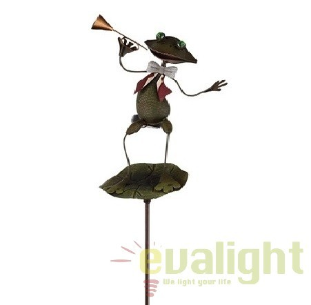 Lampa solara de gradina cu iluminat LED, IP44, 33457 GL, Iluminat solare si decorative, Corpuri de iluminat, lustre, aplice, veioze, lampadare, plafoniere. Mobilier si decoratiuni, oglinzi, scaune, fotolii. Oferte speciale iluminat interior si exterior. Livram in toata tara.  a