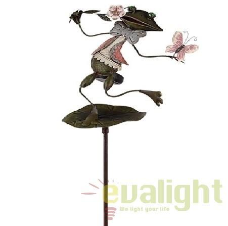 Lampa solara de gradina cu iluminat LED, IP44, 33458 GL, Iluminat solare si decorative, Corpuri de iluminat, lustre, aplice, veioze, lampadare, plafoniere. Mobilier si decoratiuni, oglinzi, scaune, fotolii. Oferte speciale iluminat interior si exterior. Livram in toata tara.  a