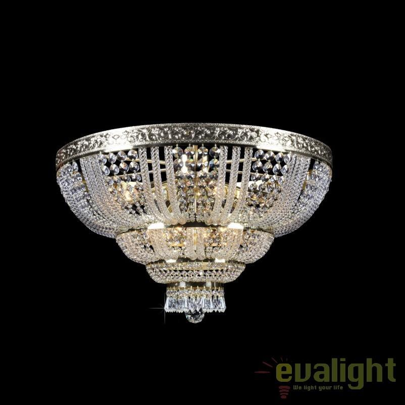 Plafoniera cristal Bohemia diam.70cm, L15 505/14/3; F 3 floor, arms, Plafoniere Cristal Bohemia, Corpuri de iluminat, lustre, aplice, veioze, lampadare, plafoniere. Mobilier si decoratiuni, oglinzi, scaune, fotolii. Oferte speciale iluminat interior si exterior. Livram in toata tara.  a