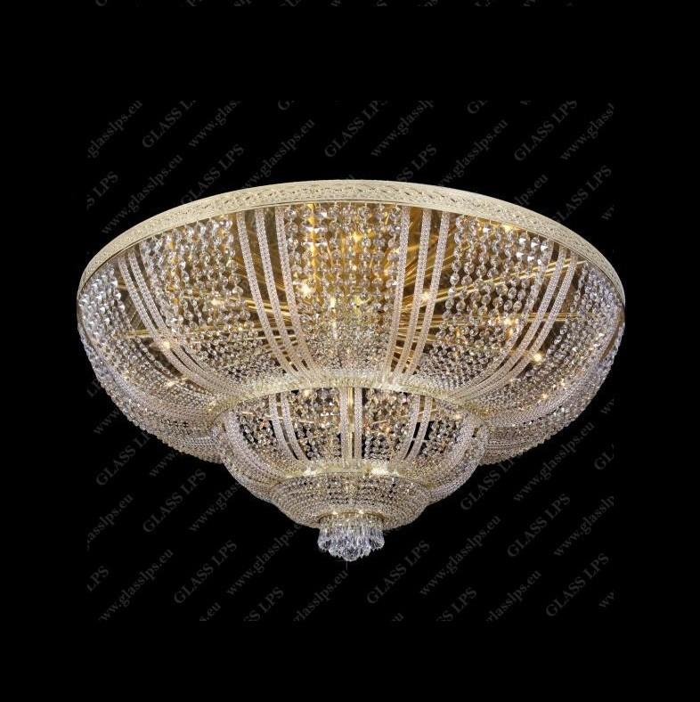 Plafoniera cristal Bohemia diam.140cm, L15 505/27/3; F 3 floor, arms, Plafoniere Cristal Bohemia, Corpuri de iluminat, lustre, aplice, veioze, lampadare, plafoniere. Mobilier si decoratiuni, oglinzi, scaune, fotolii. Oferte speciale iluminat interior si exterior. Livram in toata tara.  a