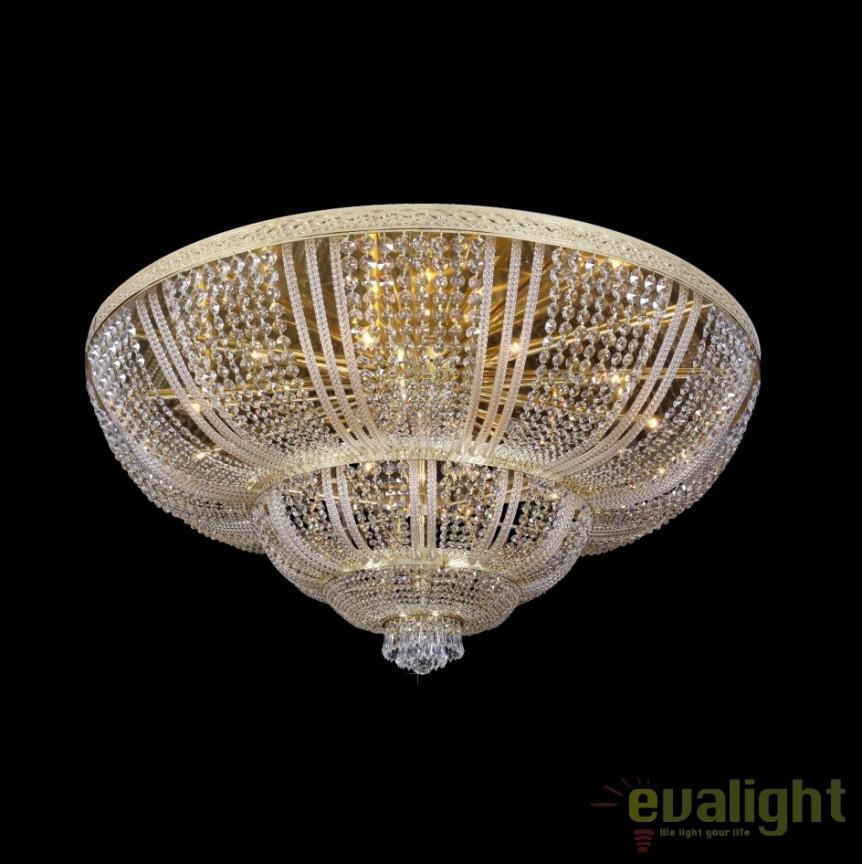 Plafoniera XXL cristal Bohemia, L15 505/64/3; F 4 floor, arms, Plafoniere Cristal Bohemia, Corpuri de iluminat, lustre, aplice, veioze, lampadare, plafoniere. Mobilier si decoratiuni, oglinzi, scaune, fotolii. Oferte speciale iluminat interior si exterior. Livram in toata tara.  a