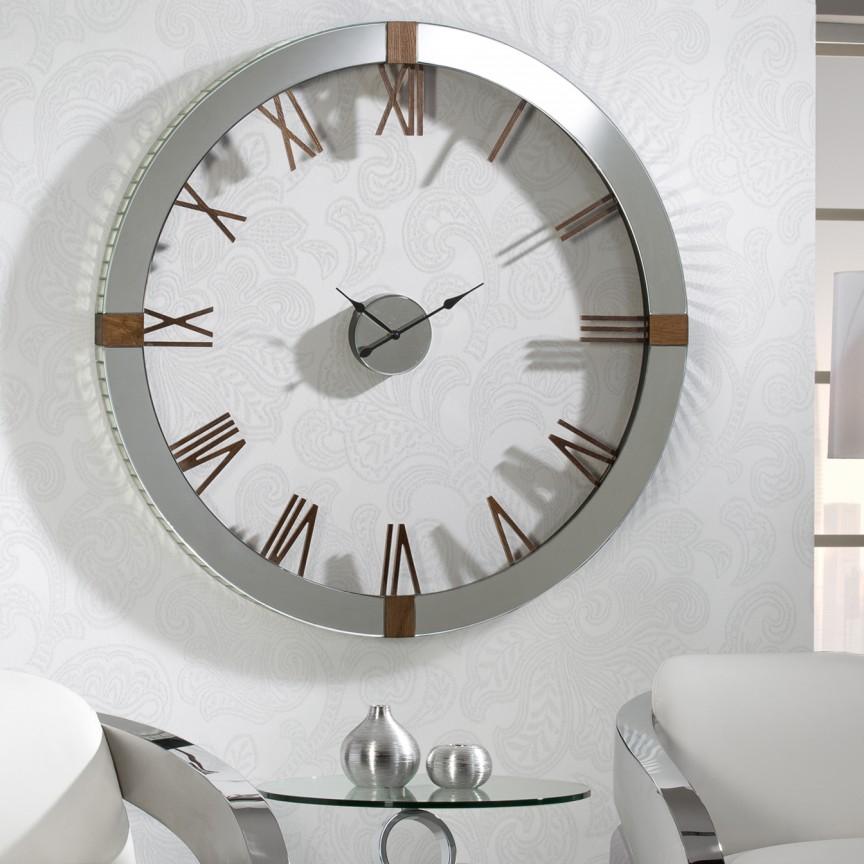 Ceas de perete mare XXL cu design decorativ deosebit, diametru 120 cm,Times SV-564803, Ceasuri de perete decorative living⭐ modele moderne, mari✅ vintage din lemn pentru decoruri de lux, deosebite.❤️Promotii ceasuri❗ Intra si vezi poze ➽ www.evalight.ro. ➽ sursa ta de inspiratie online❗ Alege ceasuri elegante originale premium stil actual Top 2020❗ Tipuri de ceas pentu decor perete bucatarie, birou, dormitor, stil industrial si minimalist, 3D, de camera digitale (electronice) analogice si mecanice cu baterii, rustic cu aspect vechi antique si rama antichizata Art Deco, rotunde, patrate, cifre arabe si romane, clasice cu pendula, realizate manual handmade, pendul si mecanism quartz foarte silentios (fara zgomot), cu ace lungi, agatate tip tablou, decorate cu cristale, metalic, oglinda, sticla, auriu stralucitor, argintiu cromat, cupru stralucitor, decoratiuni de perete pt amenajarea casei, intra ➽vezi oferte si reduceri cu vanzare rapida din stoc, ieftine si de calitate la cel mai bun pret. a