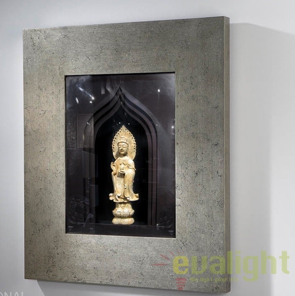 Figurina decorativa in basorelief, 80x100cm, ZENDA 895260, Mobila si Decoratiuni,  a