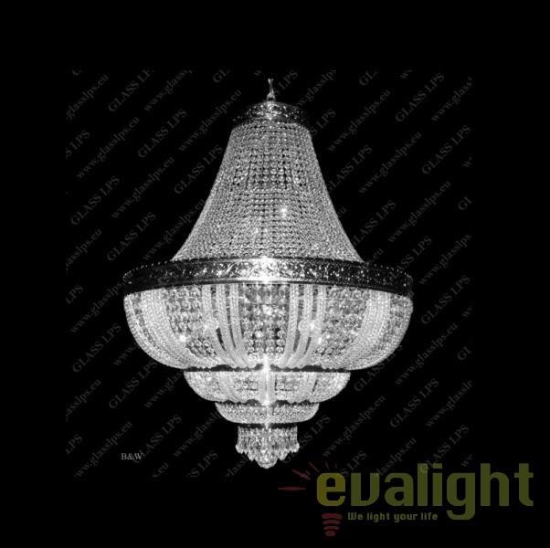 Lustra imperial cristal Bohemia L15 575/15/3; F 3 floor, arms, Lustre Imperial Cristal Bohemia,  a