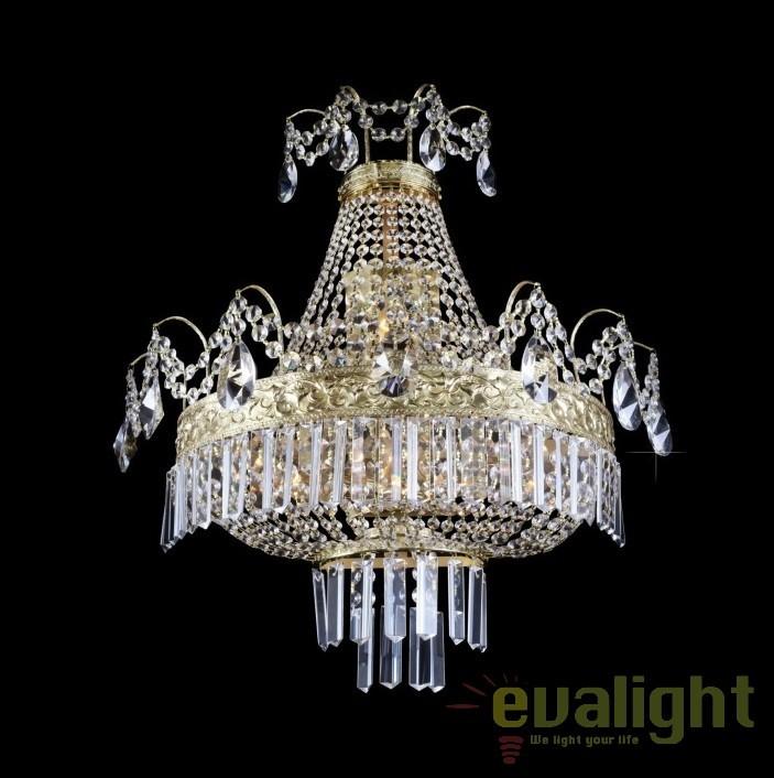 Aplica de perete cristal Bohemia N25 552/04/1-A, 3-P, Aplice Cristal Bohemia, Corpuri de iluminat, lustre, aplice, veioze, lampadare, plafoniere. Mobilier si decoratiuni, oglinzi, scaune, fotolii. Oferte speciale iluminat interior si exterior. Livram in toata tara.  a